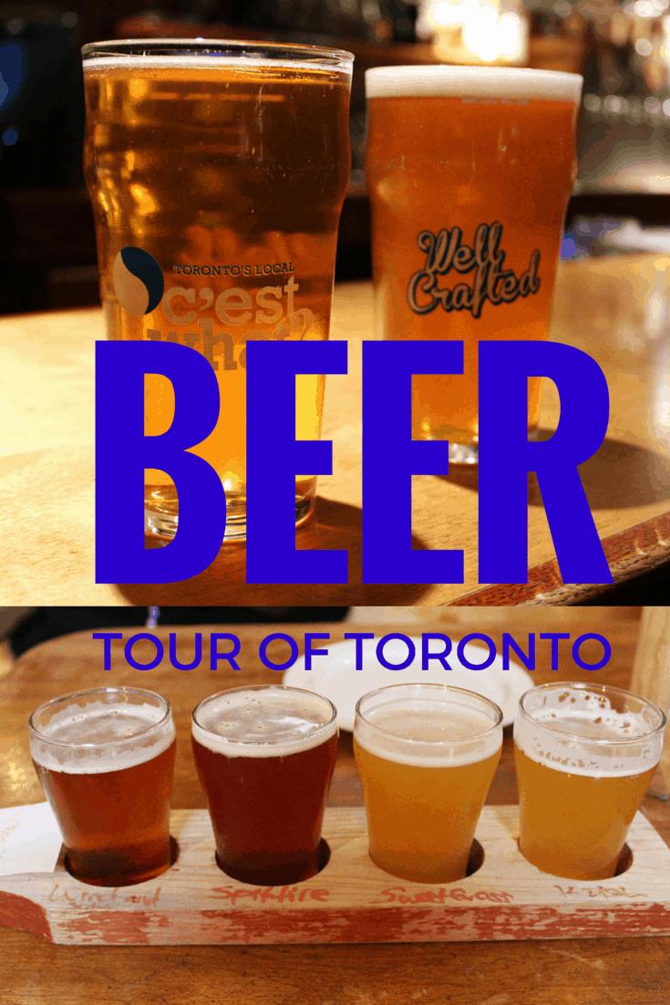 Toronto Beer Tour - Historic Walking Beer Tour