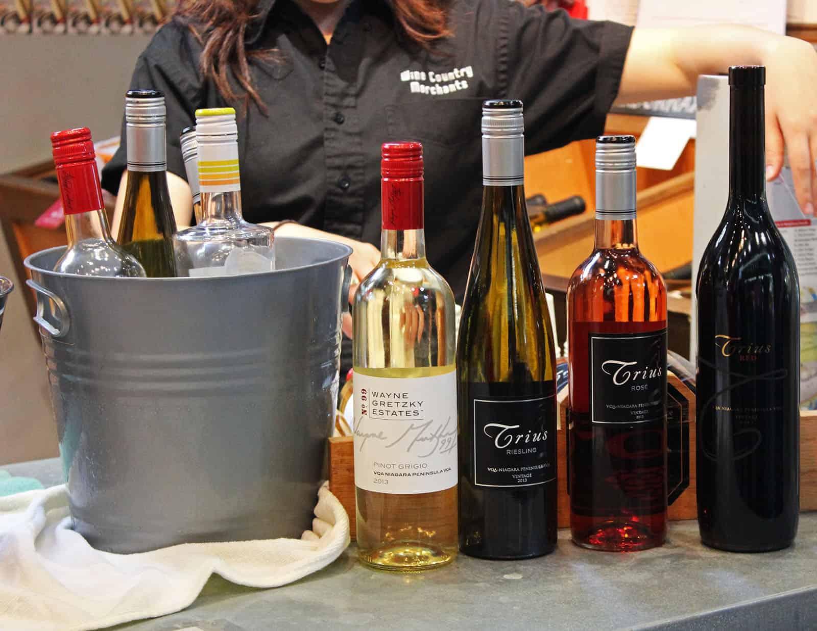 St Lawrence Market Wine