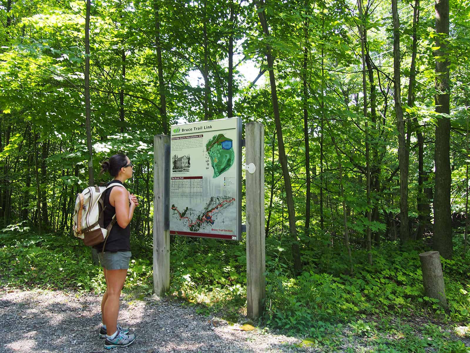 Bruce Trail, Ontario, Canada