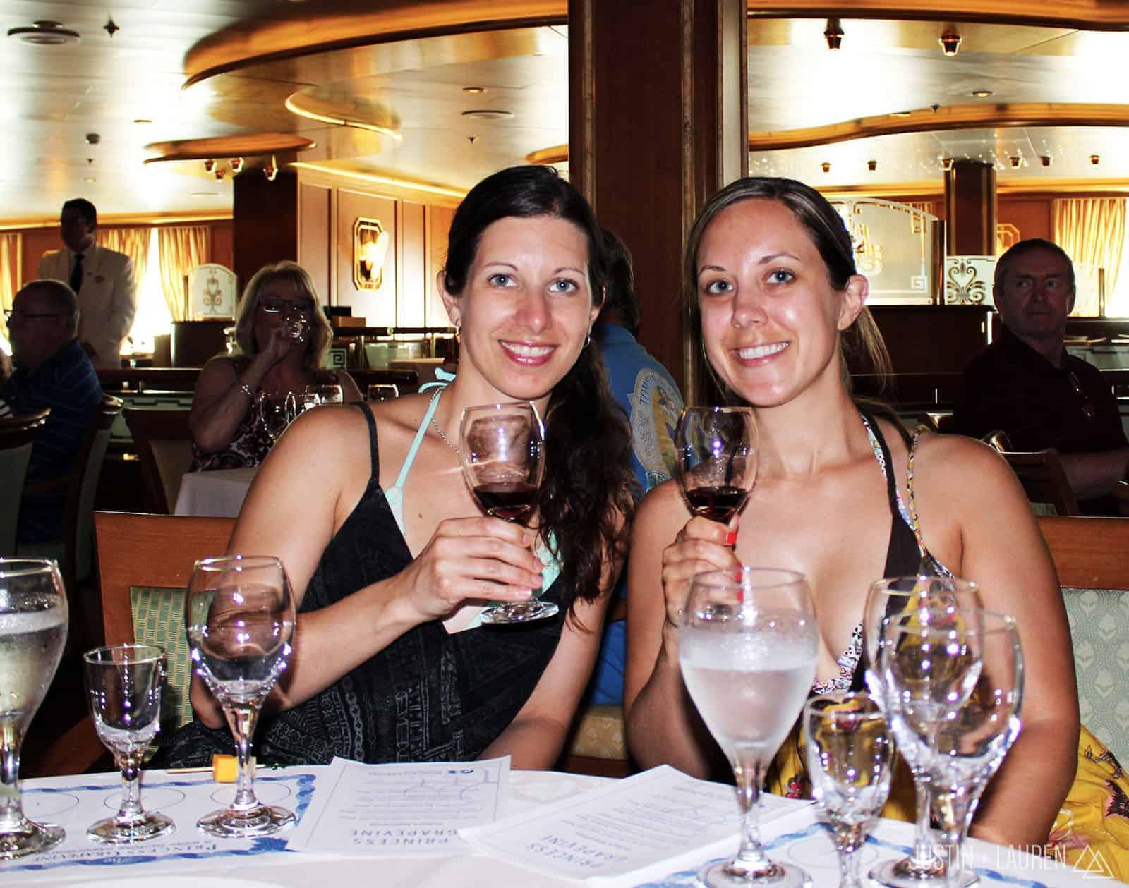 Caribbean Princess Cruise Ship - Day At Sea
