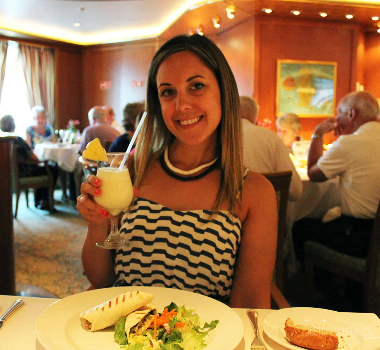 Caribbean Princess Cruise Ship - Pina Colada Soup