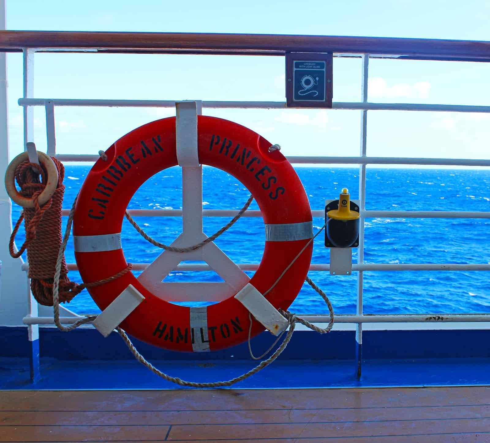 Caribbean Princess - Day At Sea on the Cruise Ship