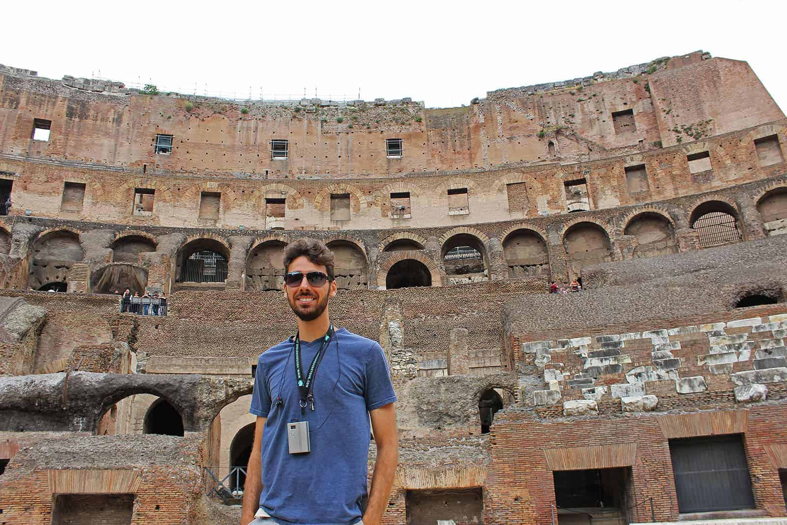 The ultimate Colosseum tour in Rome with The Roman Guy