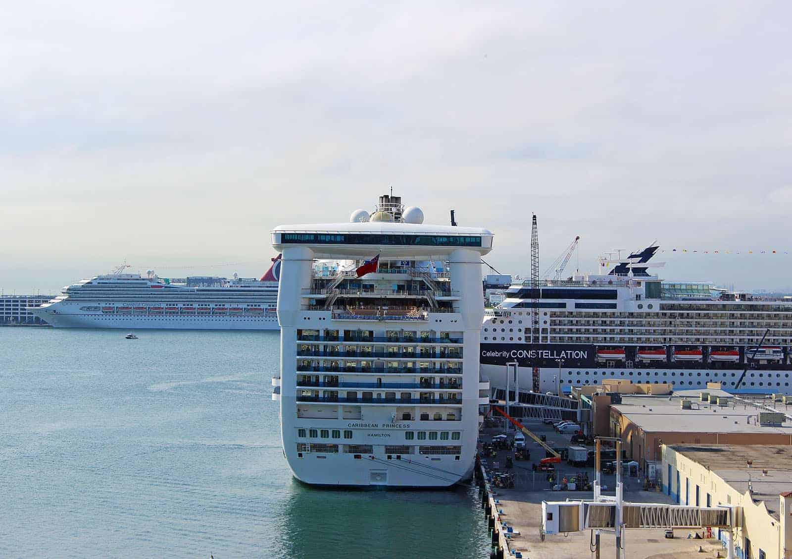Embarkation Day - The Caribbean Princess