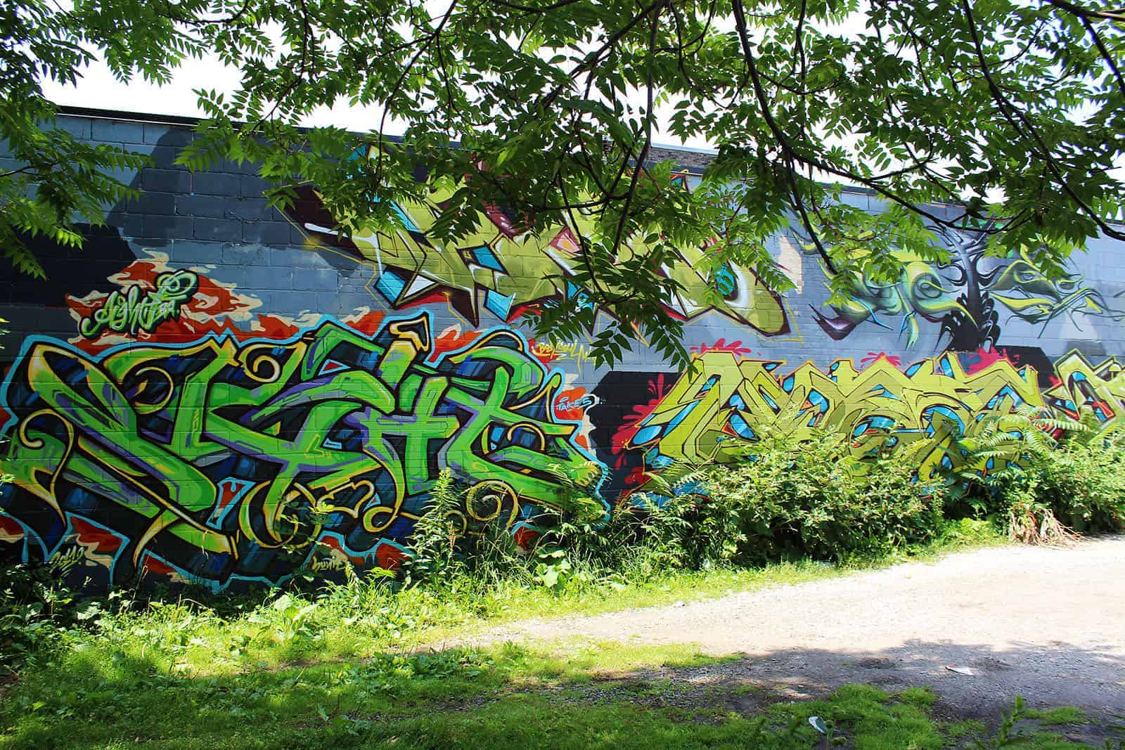 Graffiti Tour in Toronto - Street Art