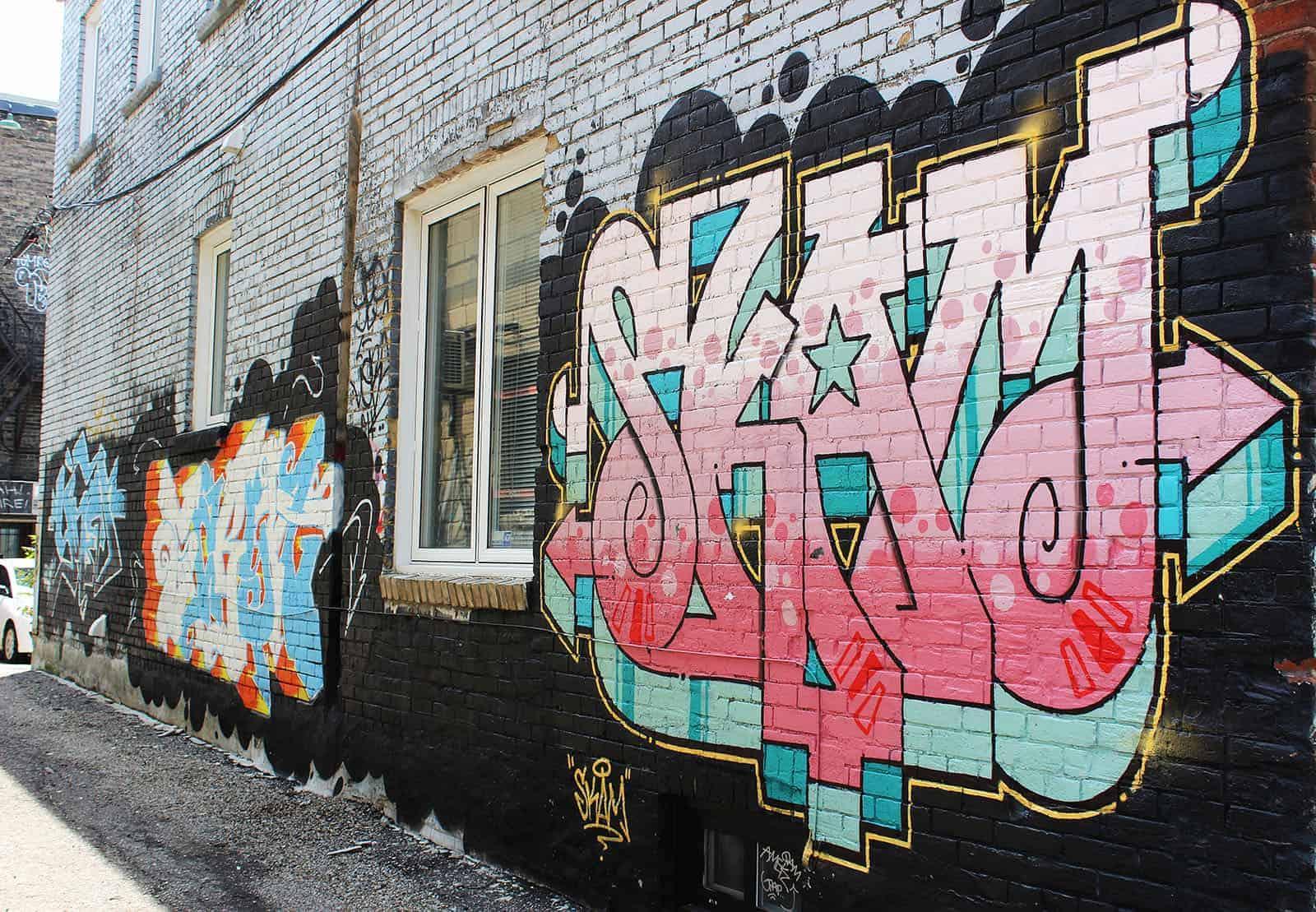 Graffiti Tour - Street Art Toronto
