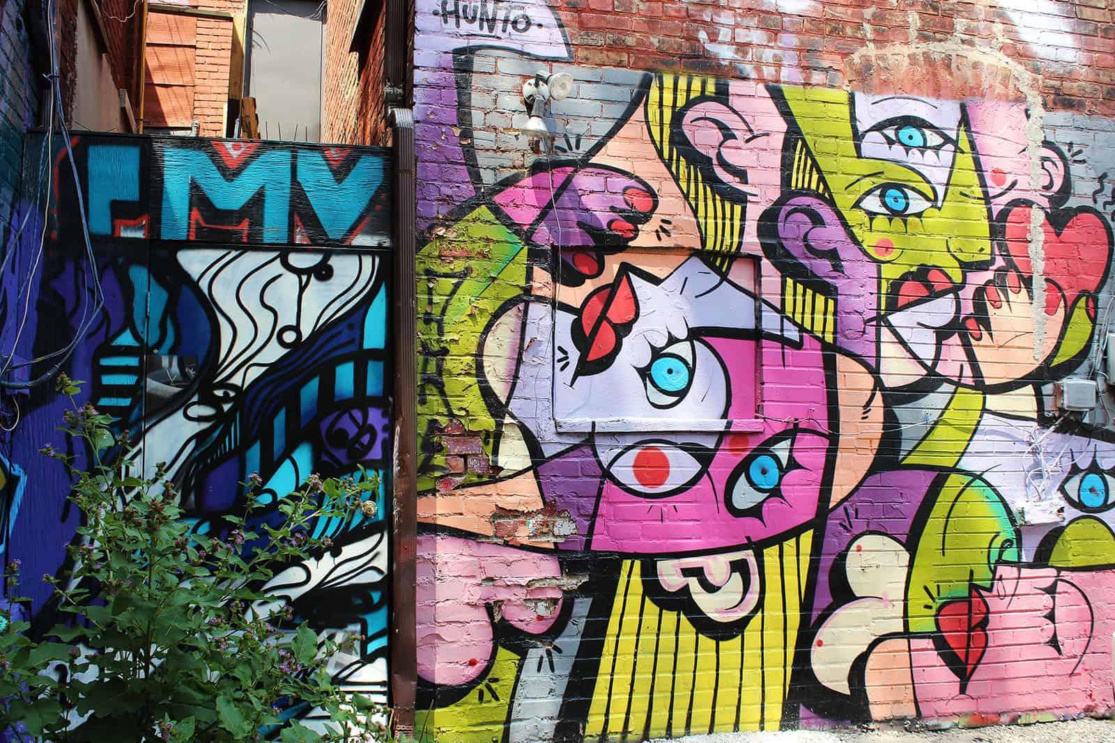 Graffiti Tour Toronto - Street Art in Toronto