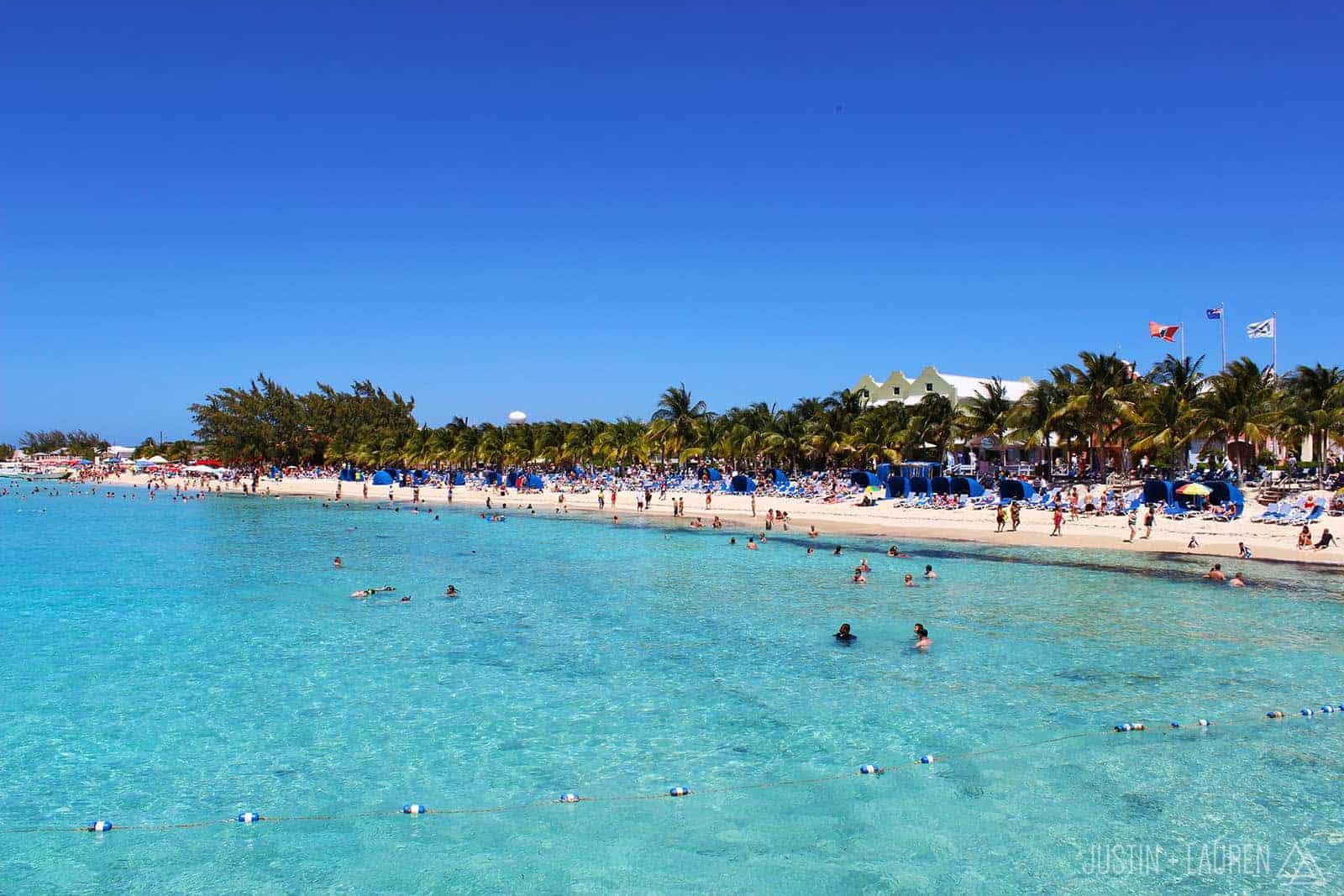 Grand Turk - Beach by cruise pier