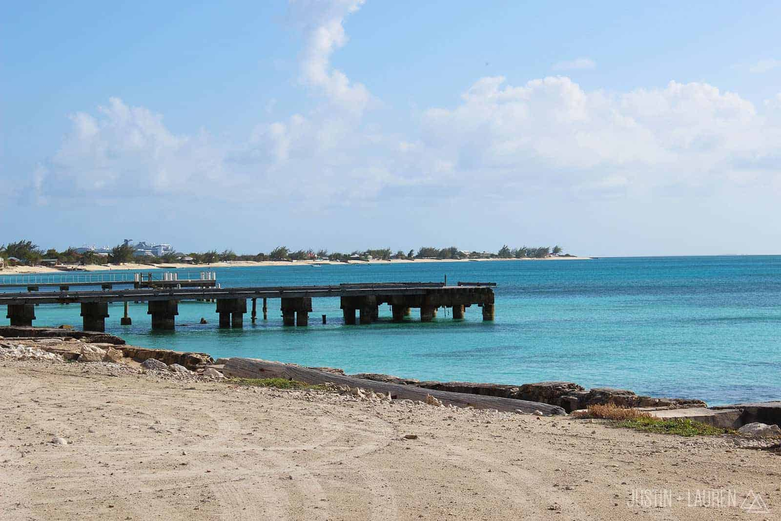 View from Front Street, Grand Turk