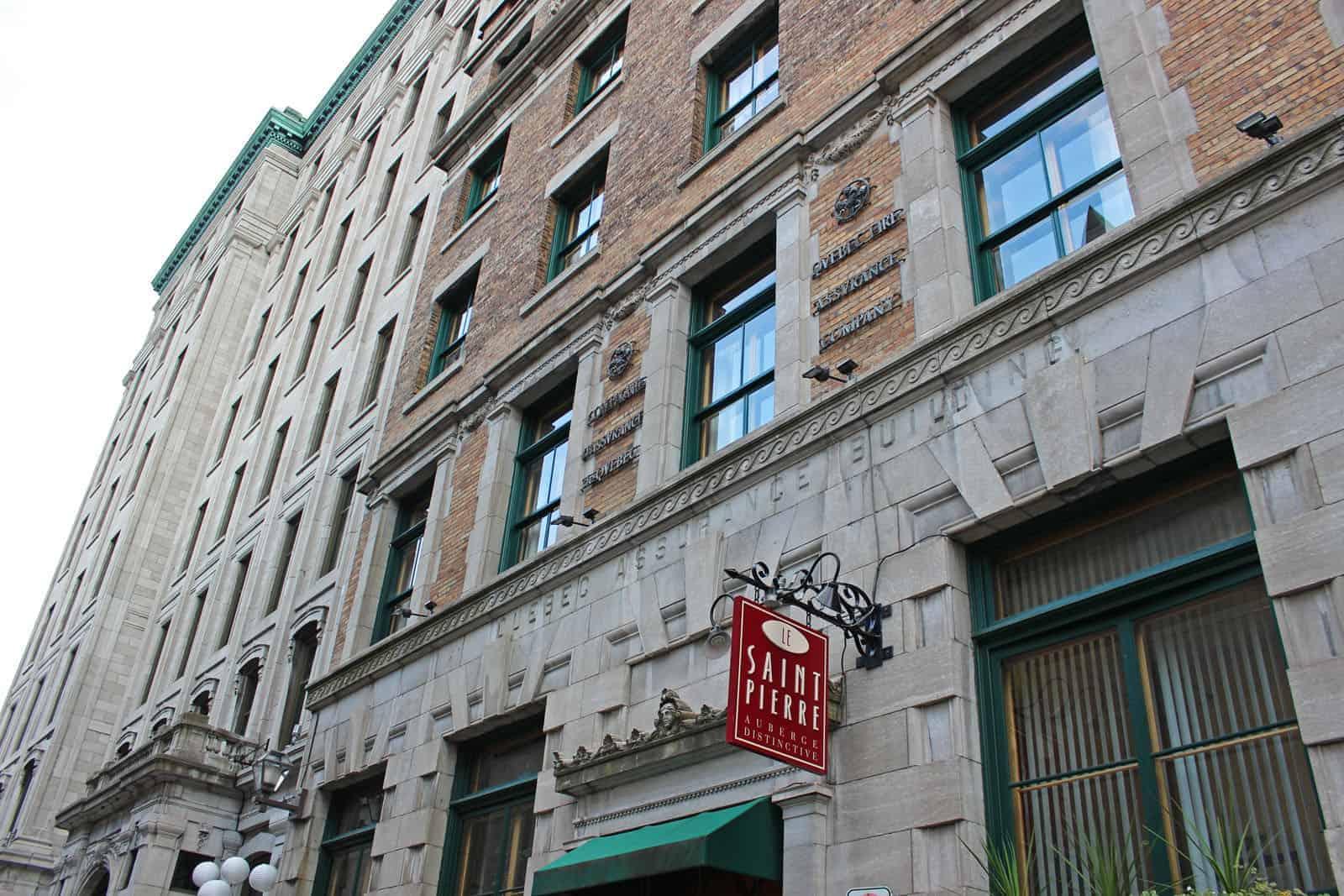 Hotel Le St Pierre Quebec
