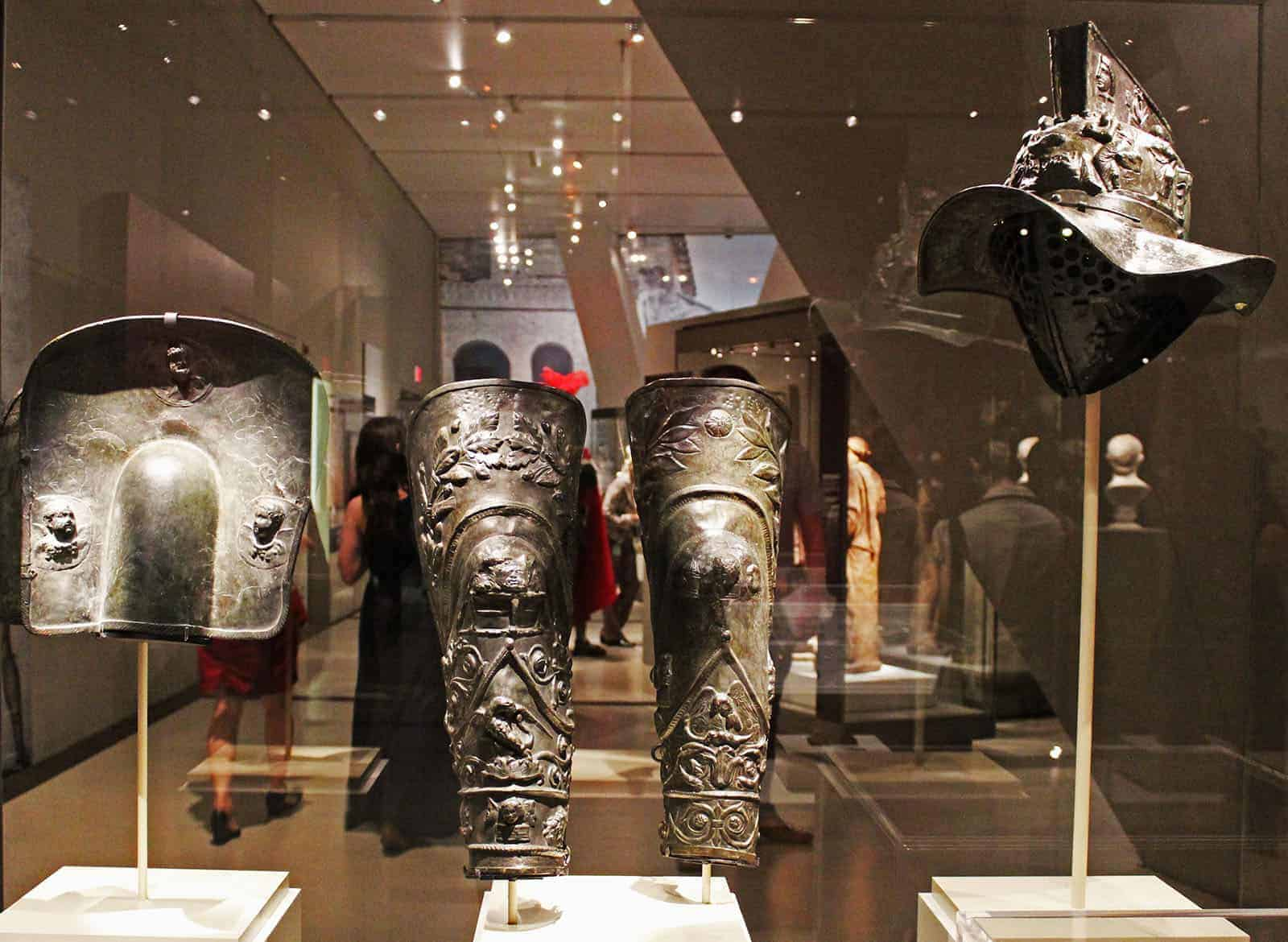 Pompeii Exhibit at the ROM in Toronto