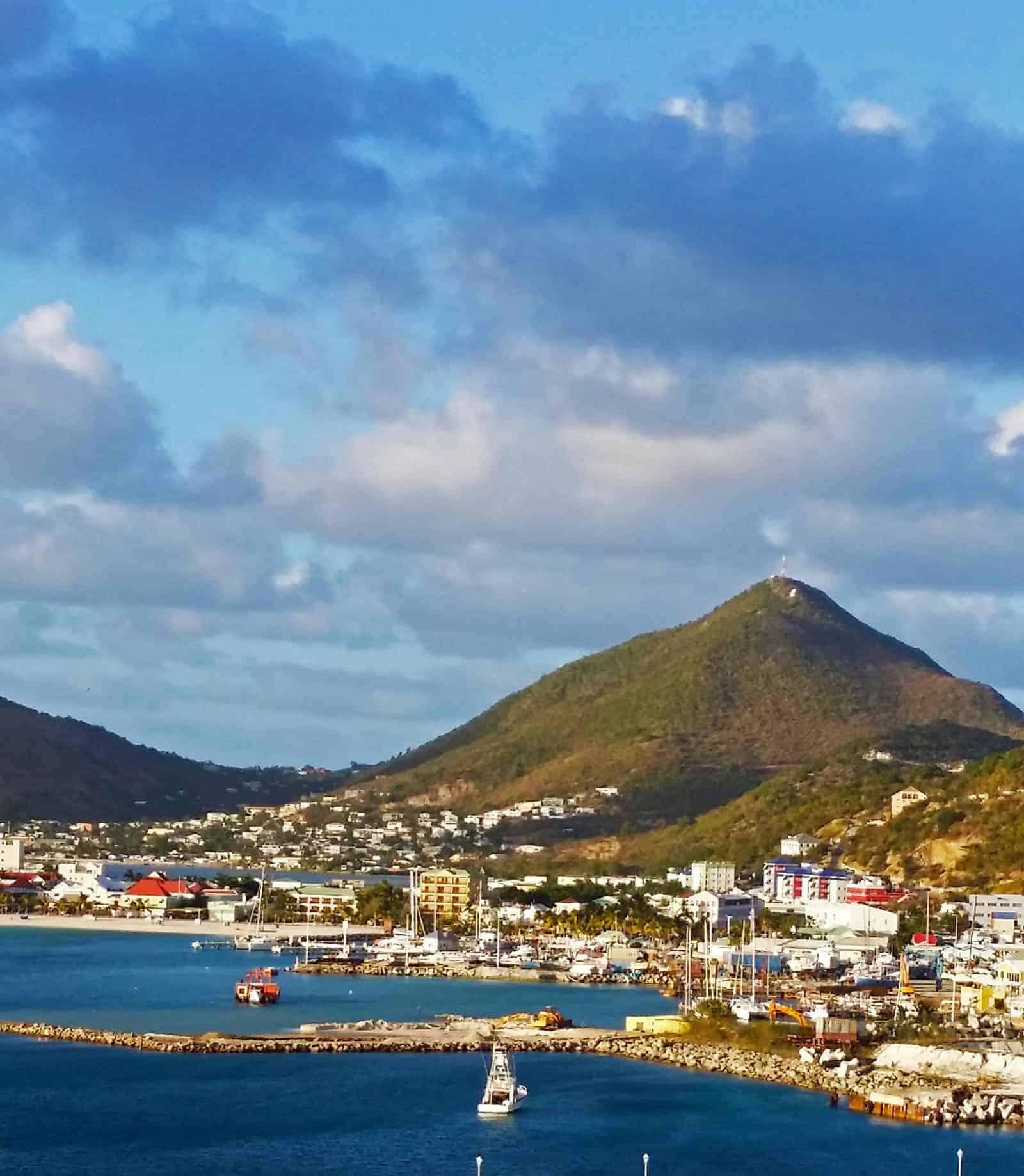 Sint Maarten / Saint Martin view