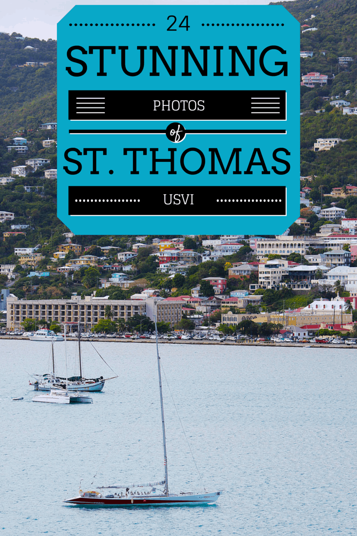 24 Stunning Photos of St Thomas from the Ocean