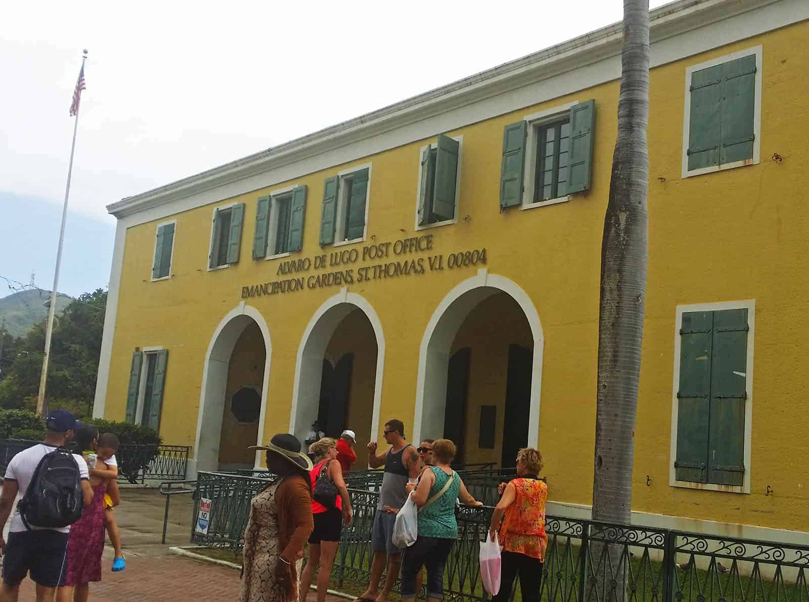 Post Office - Downtown Charlotte Amalie, St. Thomas