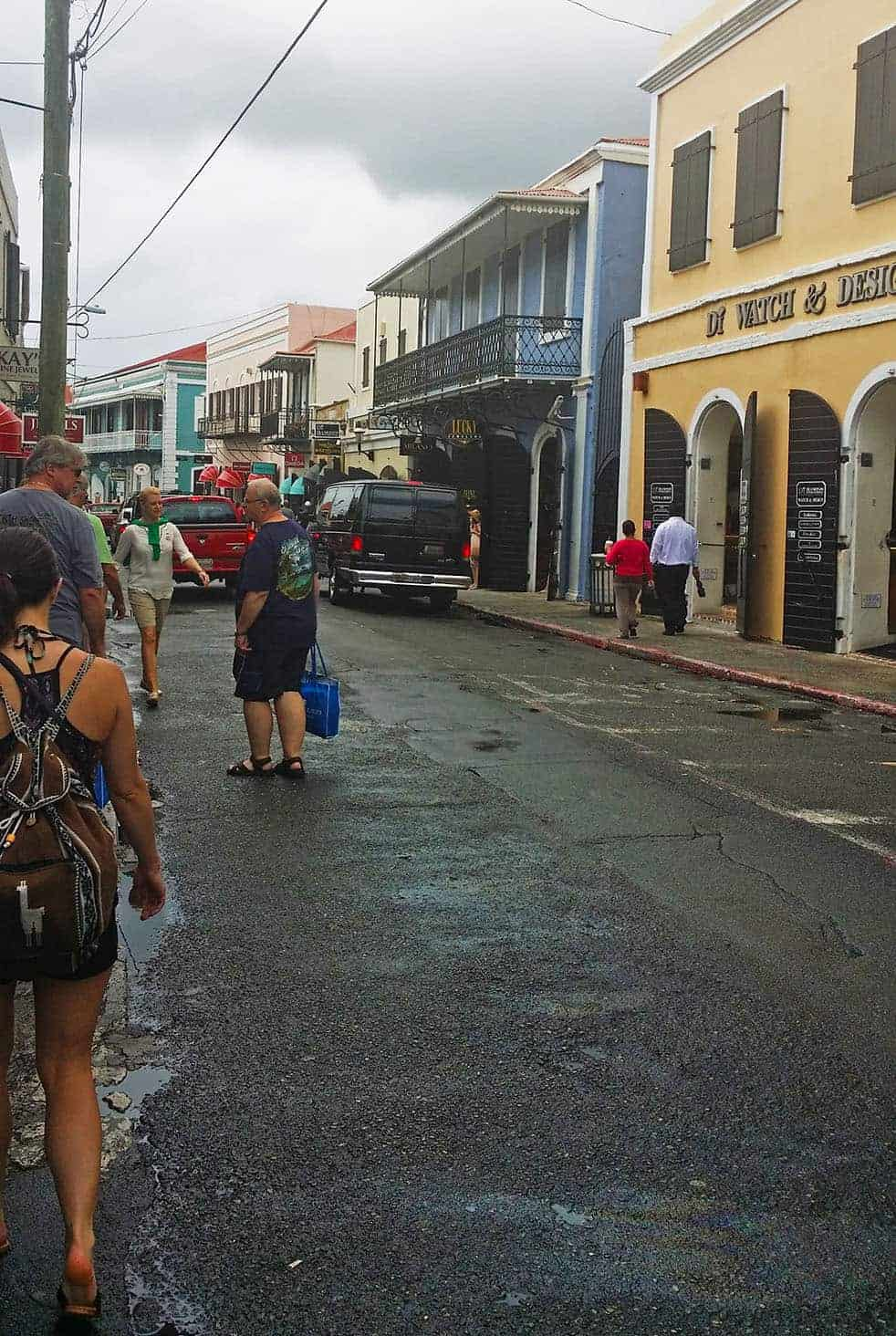 Downtown Charlote Amalie, St. Thomas