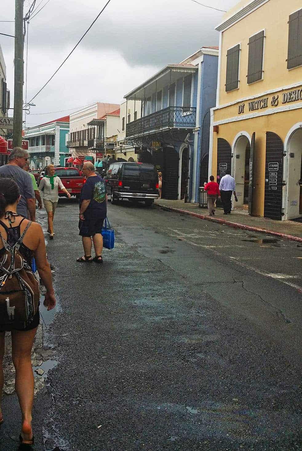 Downtown Charlote Amalie, St. Thomas