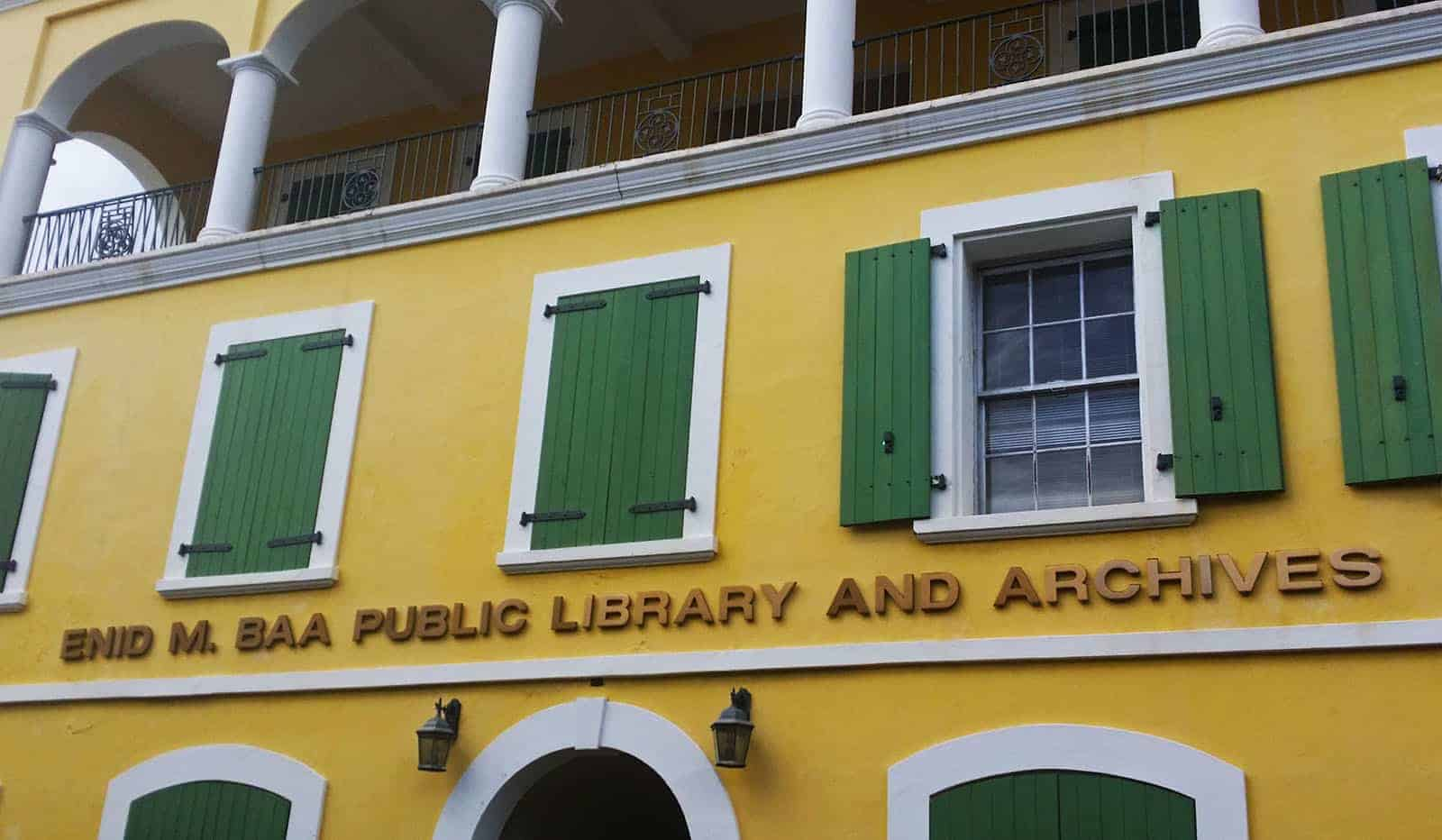 Public Library in Charlotte Amalie, St. Thomas
