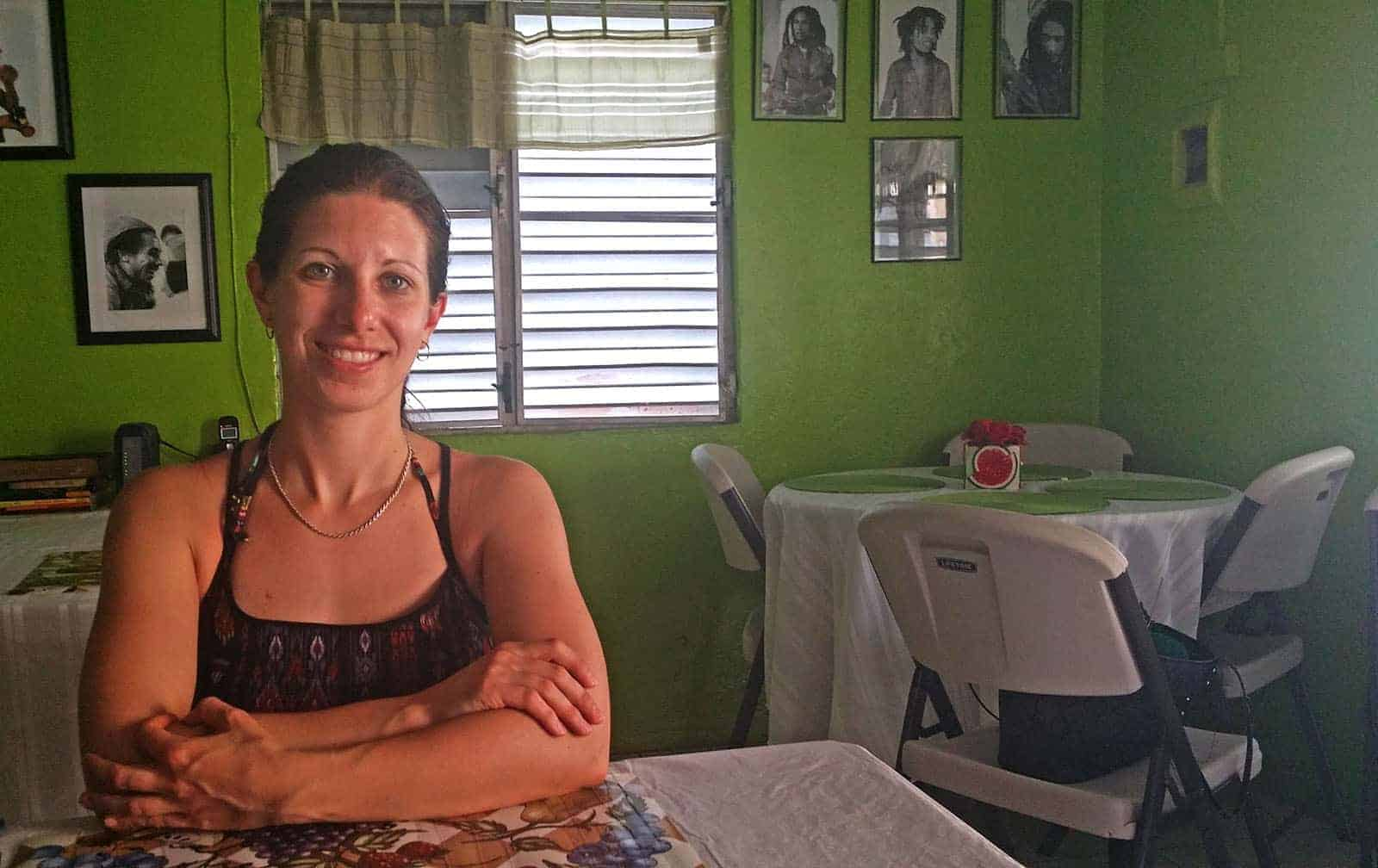 Sweet Life Cafe, vegetarian restaurant in St. Thomas