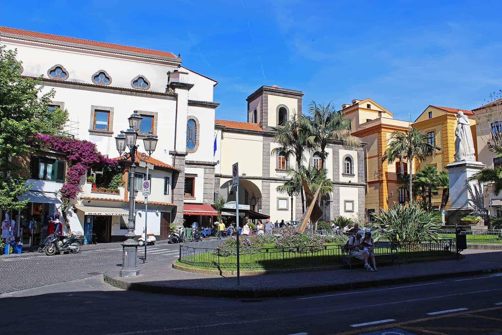 Piazza Sant'Antonino Sorrento