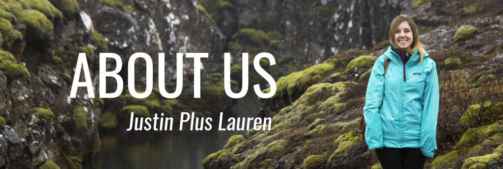 About Us - Justin Plus Lauren