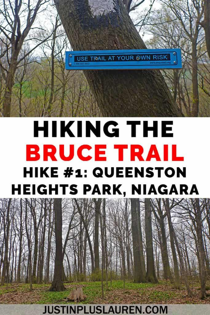 Do you have any hiking goals? Here's a big one: hiking the Bruce Trail, all 900km of it! It's a hiking trail in southern Ontario from Niagara to Tobermory. Here's hike #1 of my journey! #BruceTrail #Niagara #NiagaraFalls #Ontario #Canada #Hiking