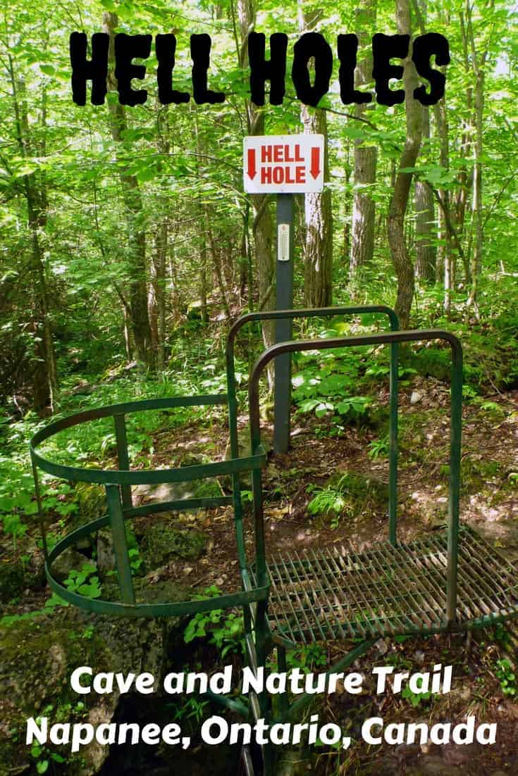 Hell Holes Cave and Nature Trails in Napanee, Ontario, Canada