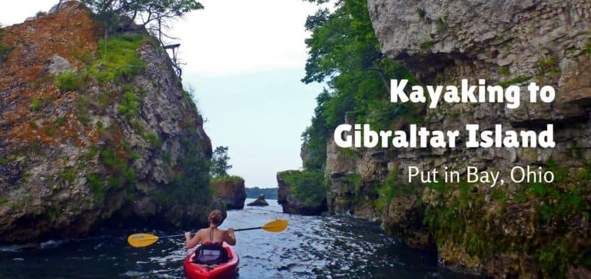 Kayaking to Gibraltar Island – Put in Bay, Ohio