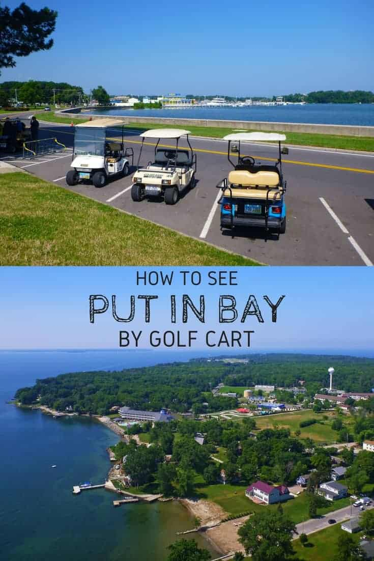How to See Put in Bay by Golf Cart - Put-in-Bay, Ohio, USA