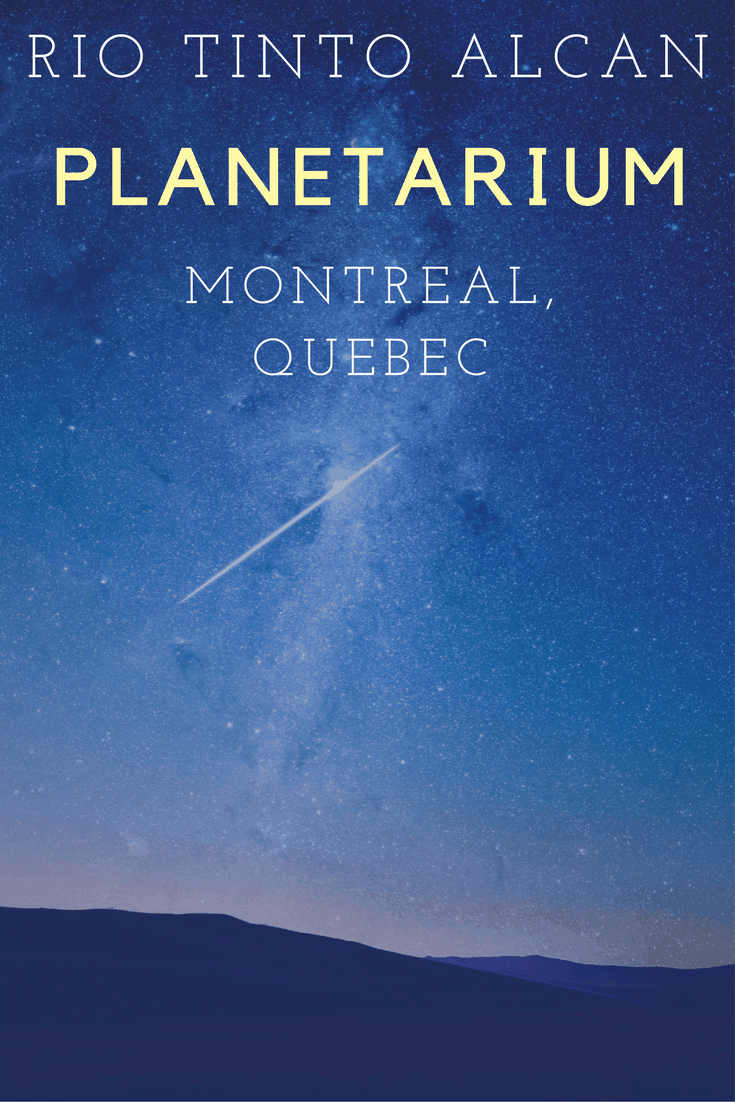 Rio Tinto Alcan Planetarium Show - Montreal, Quebec, Canada | Planetarium Montreal