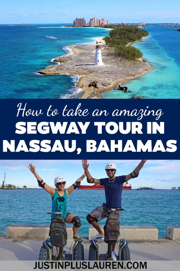 A segway tour in Nassau, Bahamas is a great way to experience this destination in a short period of time. It's really fun to take a segway tour, and we're going to show you all the sights you can see in just a couple of hours!