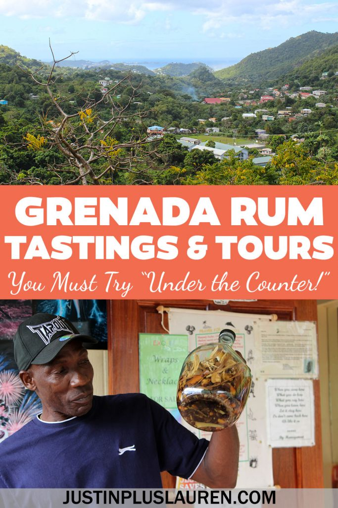 "Grenada is known as the Spice Island...and they also make great rum, too! There's a special kind of spiced rum in Grenada called ""Under the Counter"" that's unique to every bar you visit."