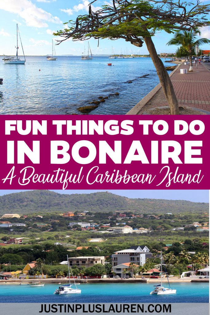 Bonaire is an amazing island in the southern Caribbean and there are so many fun things to do in Bonaire. While it's mainly known as an amazing place for scuba diving and snorkeling, there are so many Bonaire attractions, activities, and sightseeing opportunities. Let me show you how to plan your Bonaire itinerary.