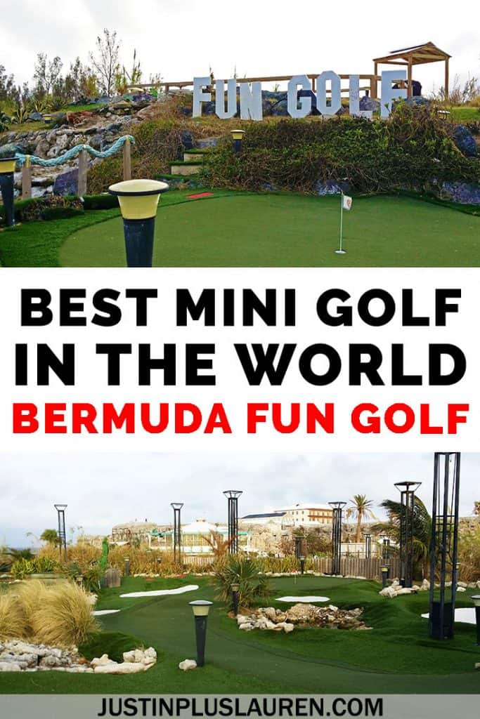 It's the best mini golf in the world...and it's in Bermuda! Bermuda Fun Golf is not to be missed when you're exploring the island. Come and see what all the hype is about! #Bermuda #MiniGolf #Golf #Island #Travel