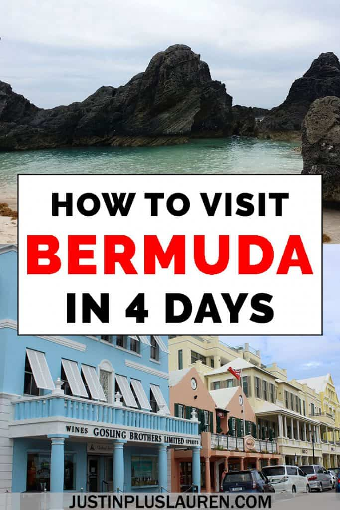 How to Spend a Long Weekend in Bermuda: 4 Days in Bermuda Itinerary #Bermuda #Travel #Itinerary #Weekend #TravelPlanning #TravelTips