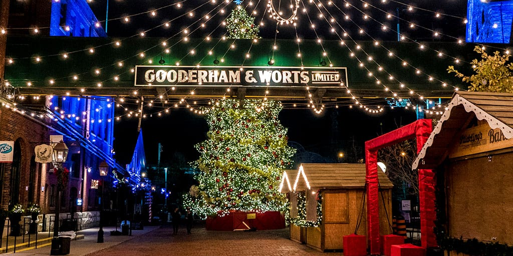 Toronto Christmas Market - Distillery District Christmas Market