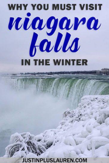 Visiting Niagara Falls in Winter: Frozen Niagara Falls, Ontario, Canada