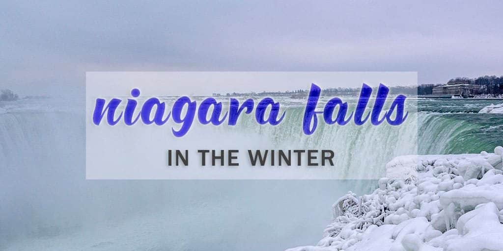 Spending Sunday In Floating Frozen >> Why You Must Visit Niagara Falls In Winter Visiting Frozen Niagara