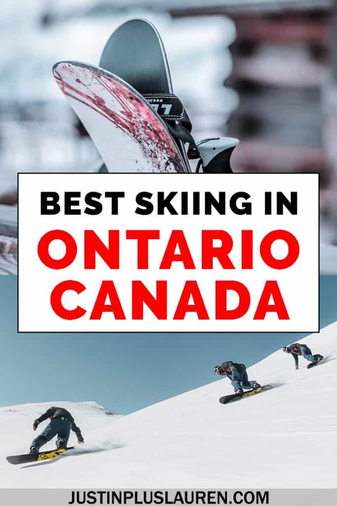 There are lots of great ski resorts in Ontario, Canada. If you're looking to go skiing in Ontario, here are the top 5 places to ski in Ontario, Canada. #Travel #Ontario #Canada #Ski #Snowboard #Skiing