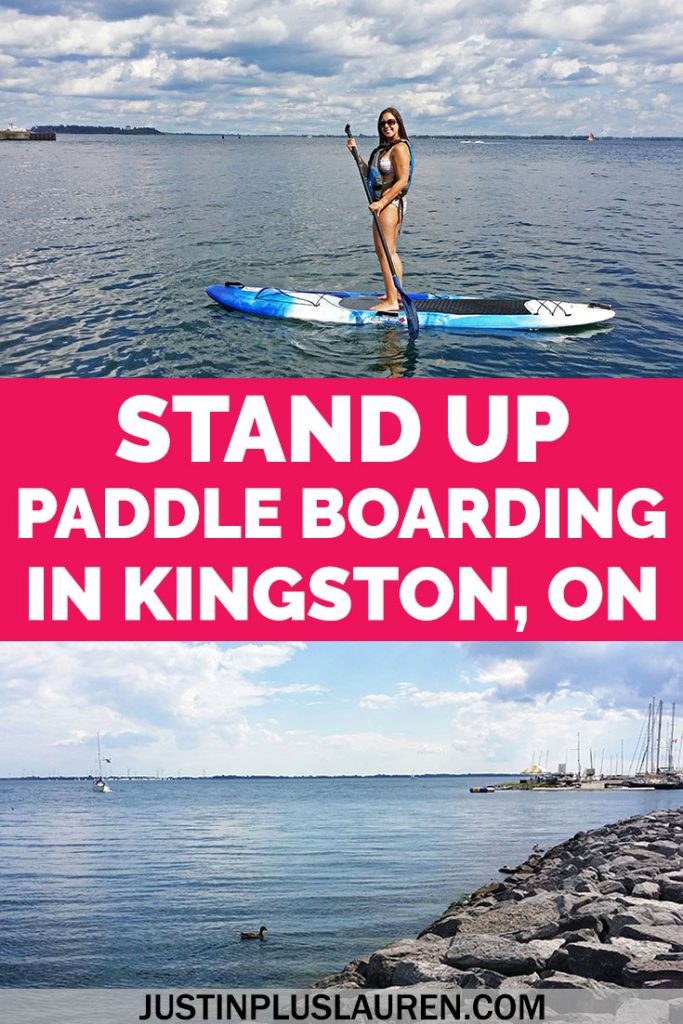 Stand up paddle boarding is one of the best activities to do in Kingston, Ontario! Learn exactly what you need to know before you try SUP in Kingston, ON.
