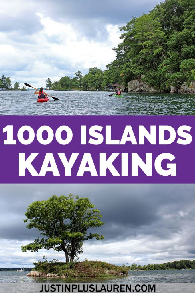 Kayaking is one of the best outdoor adventures you can have in the Thousand Islands! Here's how to take a 1000 Islands kayaking tour to get up close to many of the islands.