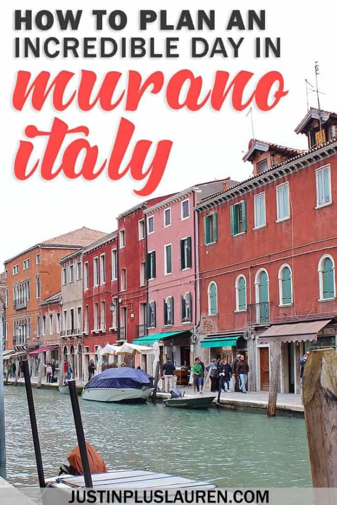 How to Spend an Amazing Day in Murano Italy: An Inspiring Trip to Murano From Venice #Murano #Venice #Italy