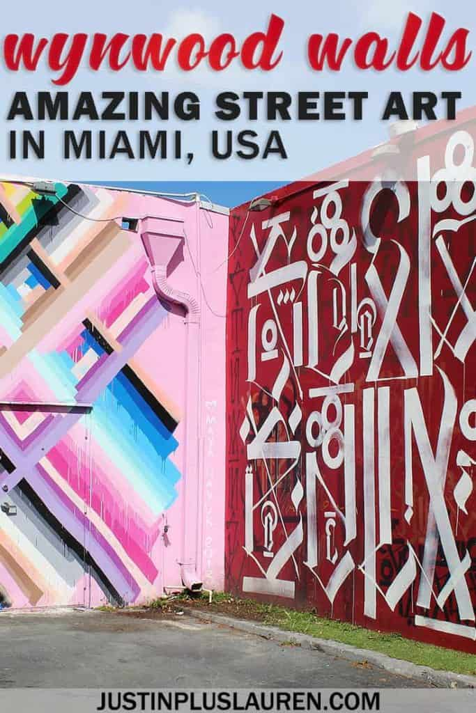 Wynwood Walls Miami: The Best Place to See Street Art in the USA #Wynwood #WynwoodWalls #Miami #Florida #Streetart #Murals #PublicArt #Free #OutdoorArt #ThingstoDo #Florida #USA