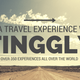 **UPDATE** Save 15% on Tinggly Travel Experiences