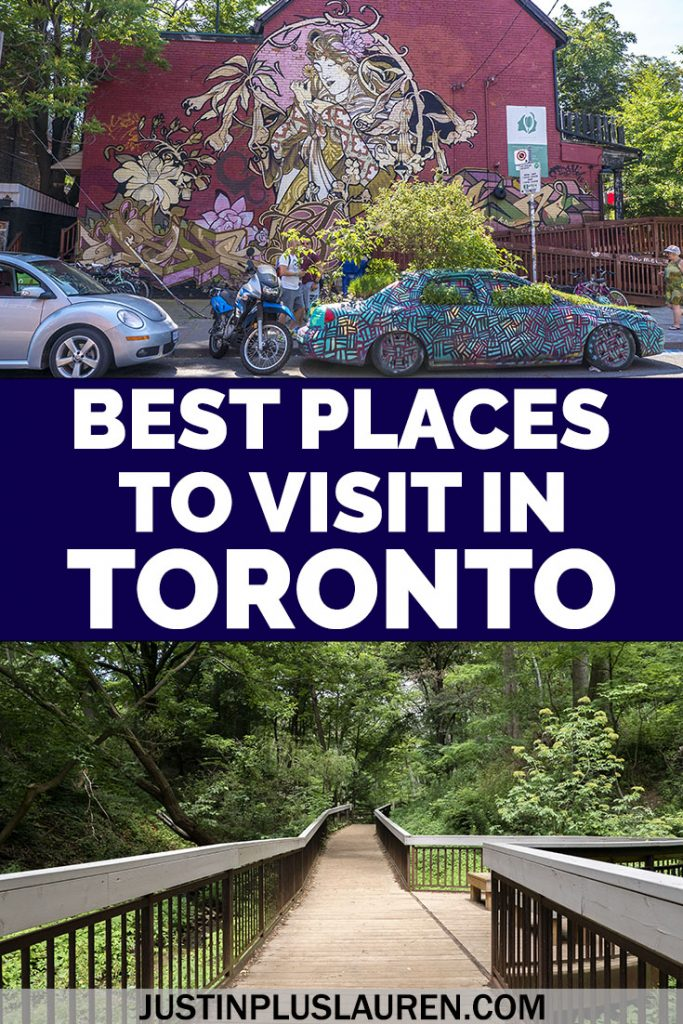 These are the best places to visit in Toronto, Canada. If you're visiting Toronto for a day or a few days, there's an endless list of awesome things to do in Toronto. Here are my favorite things to see in Toronto as written by a local.