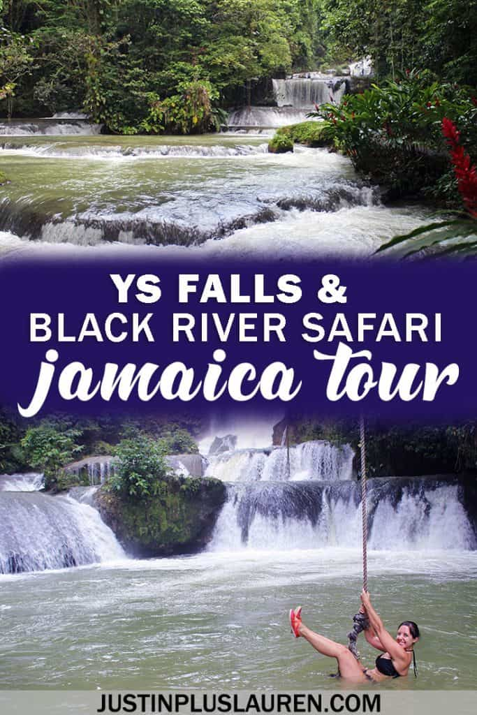 YS Falls and Black River Safari - Incredible tour in Jamaica #Jamaica #Tour #YSFalls #BlackRiverSafari #Travel