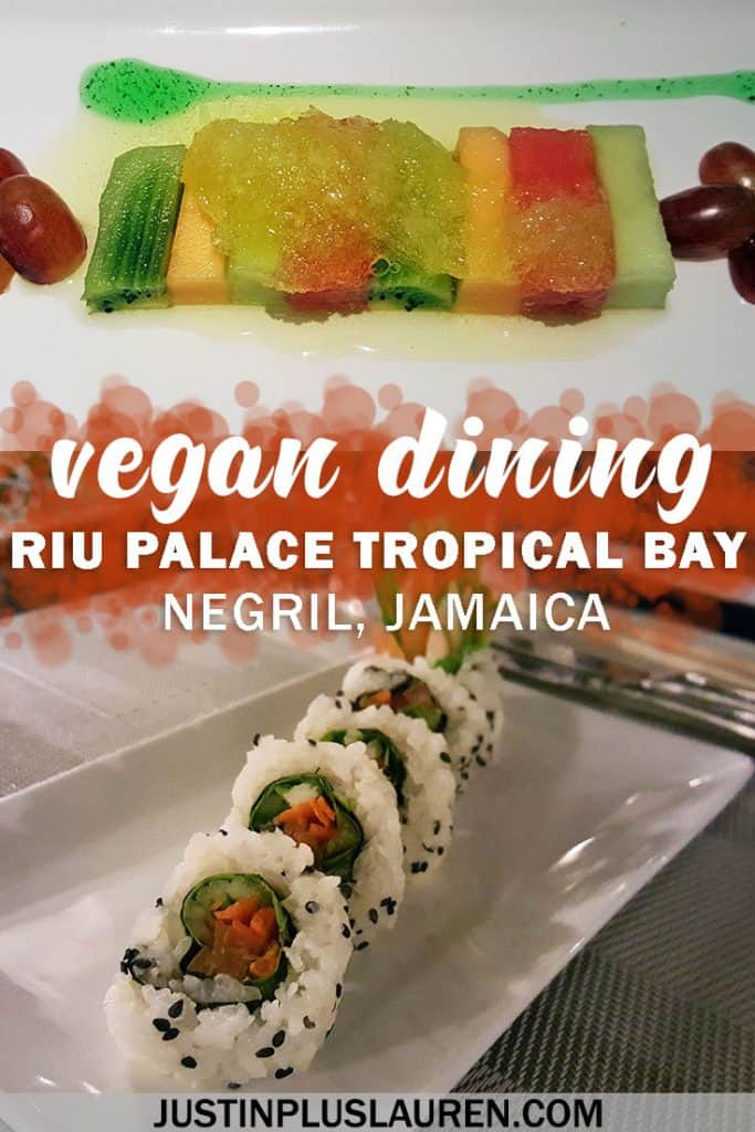 Vegan All Inclusive Resorts: How to Order Vegan Food at the Riu Palace Tropical Bay #Vegan #Resort #Jamaica #Travel