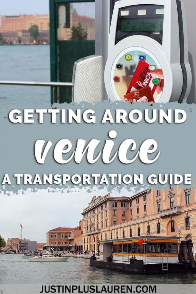 Venice Transportation for First Time Visitors: Getting Around Venice is Easy Once You're in the Know #Venice #Italy #Travel #Transportation #TravelGuide #Vaporetto #WaterTaxi #Gondola
