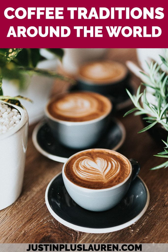 Coffee is a delicious beverage that's enjoyed worldwide. How do people around the world drink coffee and partake in the local coffee culture? Here are coffee traditions around the world that will make you fall in love with coffee again & again! #Coffee #Traditions #AroundTheWorld #CoffeeCulture #CoffeeRecipes
