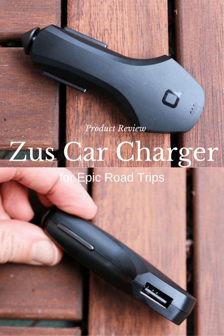 ZUS Car Charger and Locator Product Review