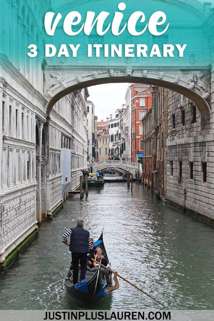 3 Days in Venice - Venice Travel Itinerary #Venice #Italy #Travel #TravelPlans #3Days #Weekend